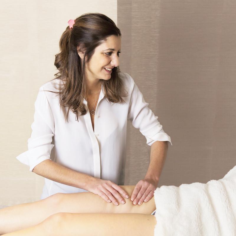 Anne Cali pratique le massage GAD