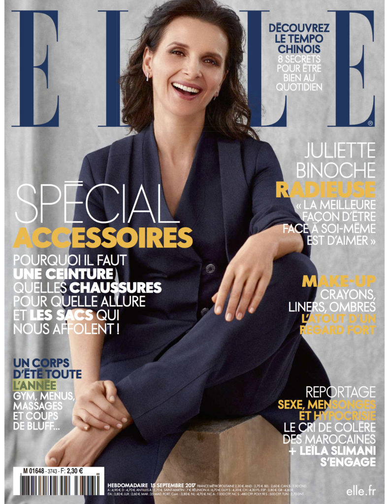 Parution presse Elle - Septembre 2017