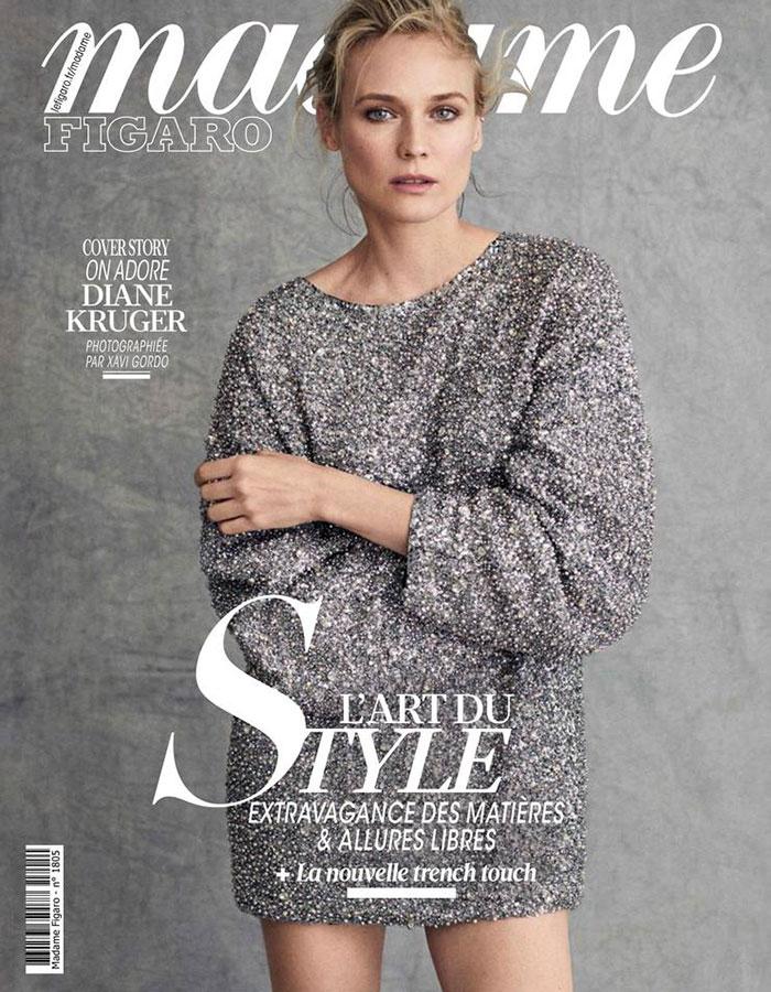 Parution presse MADAME FIGARO - Mars 2019