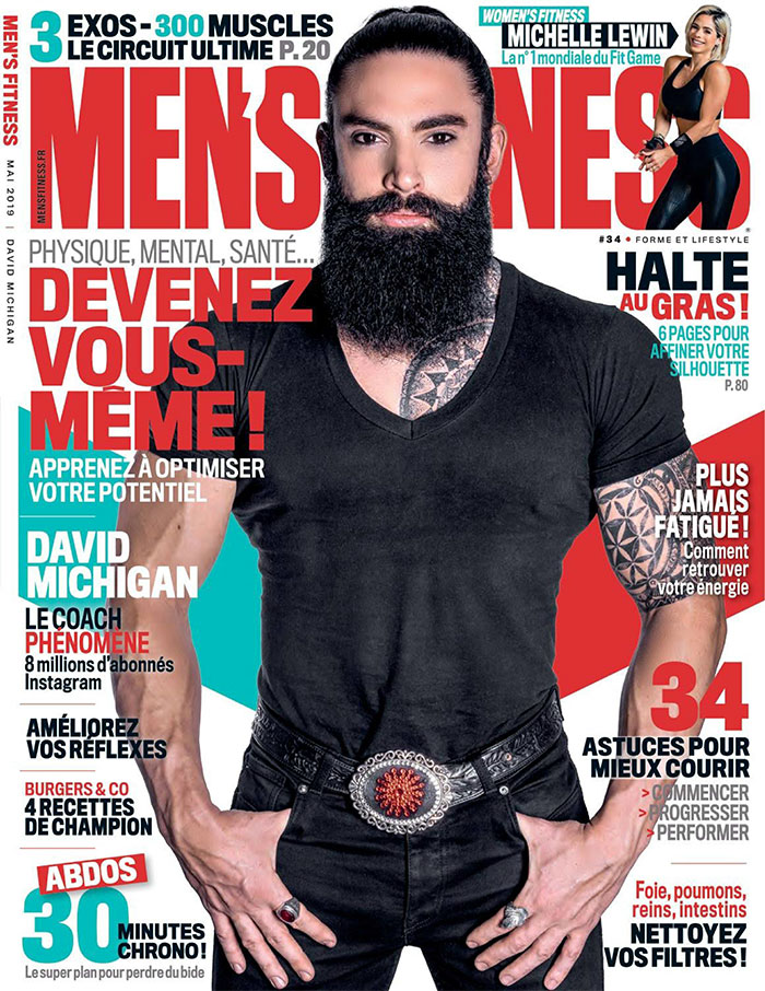 Parution presse MEN'S FITNESS - mai 2019