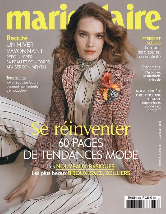 Parution presse Marie Claire février 2020