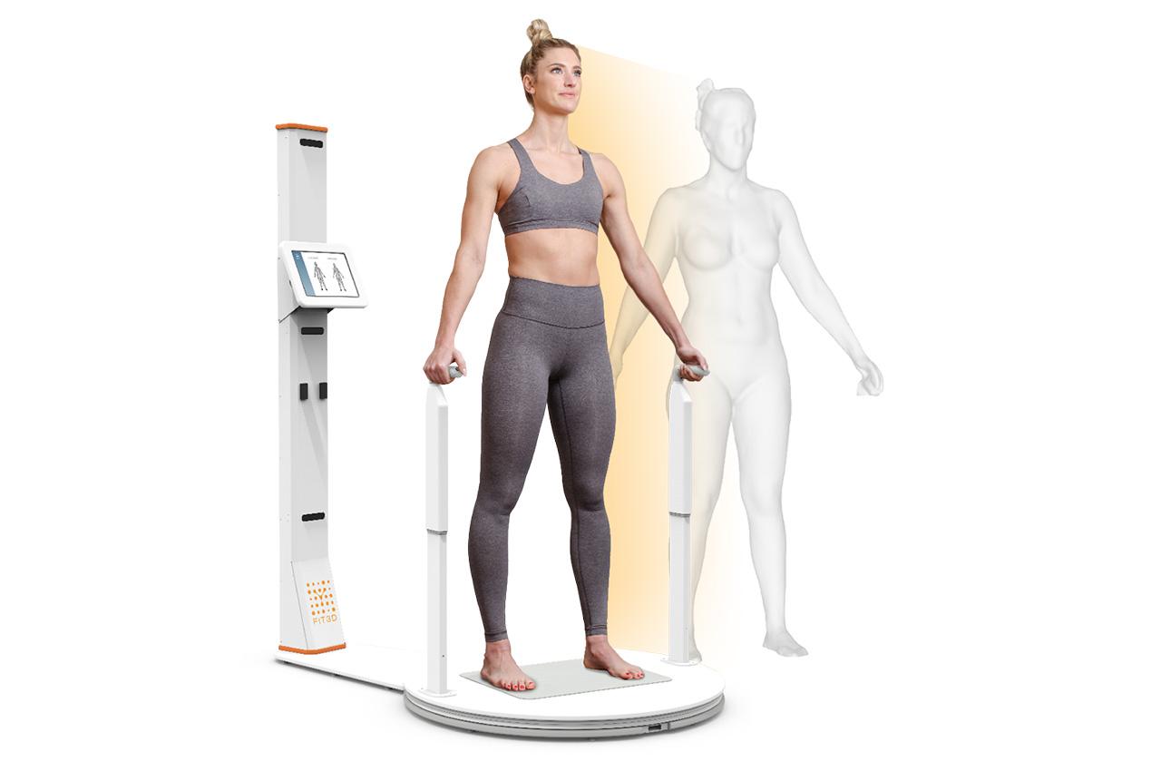 Anne Cali : Bilan corporel avec le scan fit 3D